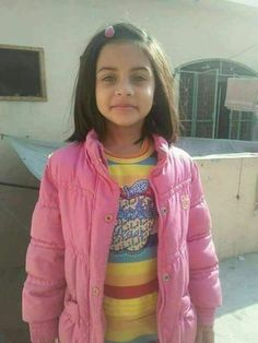 Zainab Ansari this sweet young Pakistanian child was abducted, raped and murdered this month and left in a garbage dump. So senseless. May Zainab soar with the angels. 2011~2018