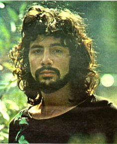 Cat Stevens, young and pensive (the way I liked him best!). From the French music magazine Pop Musique, 1971.