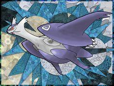 Mega Latios by Macuarrorro.deviantart.com on @DeviantArt. #Pokemon #MegaLatios #fanart
