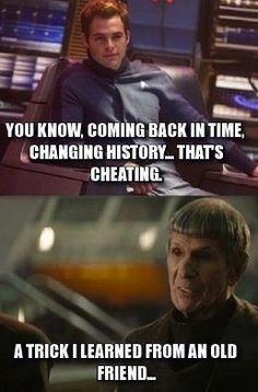 Kirk and Spock Funny Memes Tumblr, Funny Meme Pictures, Funny Internet Memes, Love Memes, Really Funny Memes, Funny Images, Funniest Memes, Star Trek 2009, New Star Trek