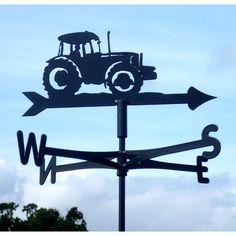 WEATHERVANE in Big Green Tractor Design | Gifts for Him | Garden Gifts | Garden Decor | Farming | Weather Vane