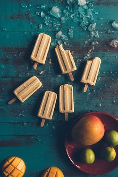 Mango Coconut and Lime Popsicles (Souvlaki For The Soul)