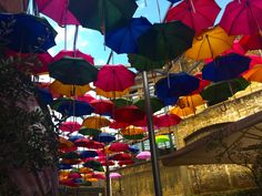 How to find the umbrella street in London