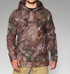 Men's Armour® Fleece Camo Big Logo Hoodie