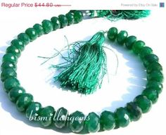 ON SALE Full 8 inches  Finest Quality by GemsAndBeadsEmporium, $31.36