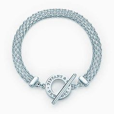 Tiffany Somerset™ toggle bracelet in sterling silver, medium. To replace the one I frickin' lost at an airport on my way to Vegas...ugh!!!!! KH