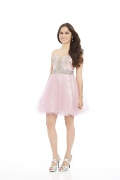 From Charlotte's Closet: This Dave & Johnny Beaded Bodice Party Dress - BORROW NOW! $50