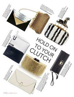 Dareen Hakim - Le Parisien in Zuri Luxury magazine - December 2014 - Hold On To Your Clutch - in Nairobi, Kenya, Africa