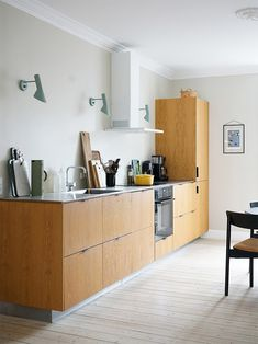 wood kitchen cabinets White Built Ins, Ikea Kitchen Cabinets, Ikea Kitchens, Custom Wood Doors, All White Kitchen, Best Ikea, Ikea Shelves, Low Cabinet, Wonderwall
