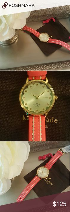 Final Price⬇*NWT* Kate Spade Watch * Mother's Day* NWT* Kate Spade Watch* 34 MM* Metro Spade* Stunning in all it's details* Feel free to Inquire and ask Questions * Bundle & Save * kate spade Accessories Watches
