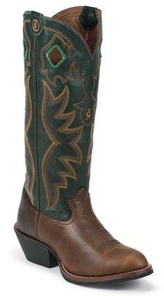 Mens Tony Lama 3R Whiskey Dawson Cowboy Boot