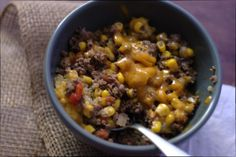 Beef Quinoa Chili, check out that cheese. Gluten free savory. Easy for weeknight meals