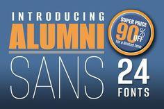 #Alumni Sans 90% OFF - 24 #Fonts - Sans Serif