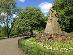 Kelvingrove Park in Glasgow, Glasgow City