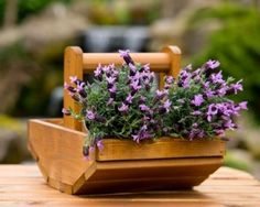 Garden Wooden Planters Flowers Plant Stand Balcony Patio Trug Planter Outdoor