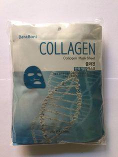 BARABONI Original Collagen Facial Mask Sheet Pack 1PCS Nutrition K-Beauty #BARABONI
