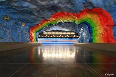 sweden stockholm subway station - Google Search
