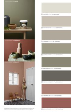 Jotun LADY - Det nye vakre fargekartet 2015 by Jotun Dekorativ AS - issuu Colour Pallete, Colour Schemes, Trendy Bedroom, Modern Bedroom, Master Bedrooms, Wall Colors, House Colors, Colours, Small Bedroom Ideas For Couples
