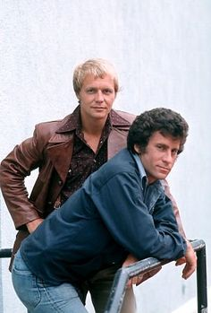 """Starsky and Hutch"" David Soul, Paul Michael Glaser"
