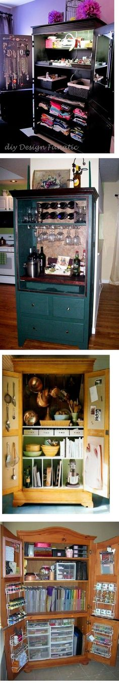 Repurposed TV Armoires, anyone? - Home Decorating & Design Forum - GardenWeb