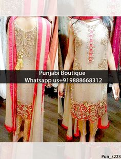 Gorgeous Gray Embroidered Churidar Suit Product Code: To order this dress , please call or WhatsApp us at We can design this Churidar Suit in any color combination or on any fabric (price may vary according to fabric) Churidar Suits, Shalwar Kameez, Sharara, Anarkali, Pakistani Dresses, Indian Dresses, Punjabi Boutique, Indian Fashion