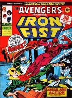 Marvel UK, Avengers #80, Iron Fist vs Batroc