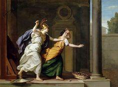 René-Antoine Houasse: Minerve/Athena et Arachne (1706, Oil on Canvas)