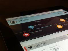 Timeline Graphics for Web, Mobile, and Print Design / Design Tickle Interface Design, Ui Design, Print Design, Graphic Design, Types Of Infographics, Life App, Timeline Design, Ui Patterns, Dashboards