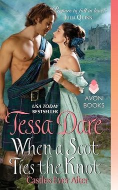 When a Scot Ties the Knot (Tessa Dare). Book review by The Bookwyrm's Hoard.