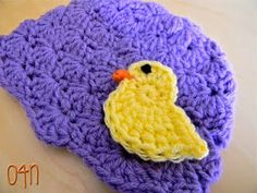 Spring Chick Applique Pattern. Three sizes. How can you make just one?