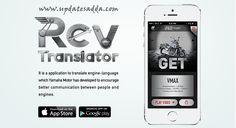 Yamaha Motor Introduces RevTranslator App | Listen What Your Engine Says