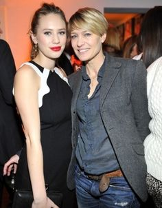 robin wright casual style