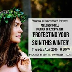 Hey regional Victoria I'm coming for you! Next Thursday night I'll be talking at one of @dusk_by_adele exclusive stockists all about taking care of your skin this winter. Most people think that the cooler weather is good for the skin- but there's plenty of things we do that wreak havoc on it! Join me and let's talk all things Skin and beauty- plus I'll have the new Dusk products with me for you to fall in love with. Bookings essential - call (03) 5176 2292  by @elisegowphotography