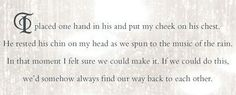 """:) the feels!!! But who is """"him""""? It better mean Maxon!!!"""