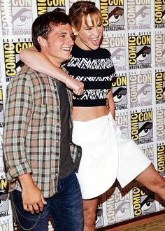 PHOTOS: 'Catching Fire' cast at the San Diego Comic-Con (Master Post) | TheHungerGamers.net | Home Fansite of the Hunger Games Fans