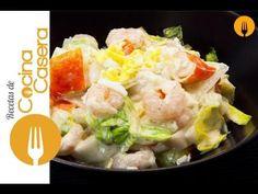 Ensaladilla de marisco | Recetas de Cocina Casera - Recetas fáciles y sencillas