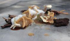 Birravioli - La Rossa in due distinte lavorazioni dà vita a un piatto brioso che coniuga l'amaro e il floreale   Chef Ginevra D'Alessandro
