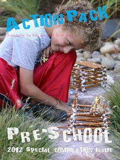 Action Pack Magazine: Preschool Compilation Issue