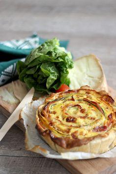 Blog Cuisine & DIY Bordeaux - Bonjour Darling - Anne-Laure: Tarte légumes & saveurs du Sud-Ouest