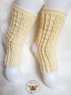 Wildmoths Handcrafted Creations: White Yoga Socks