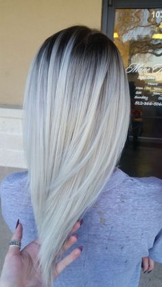 cool Déco Salon - TRANSFORMATION: Nice Blonde To Rooty Icy Melt - Career -g Modern Salon...