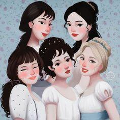 De las novelas de Jane Austen