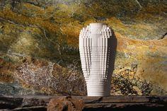 Ceramic Mossi Vase Keramiek  Mossi Vaas