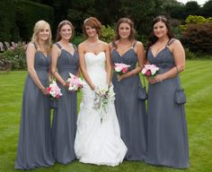 Love this photo of Steph and her bridesmaids... by Emma Hall Designs