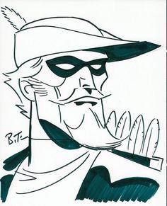 Green Arrow by Bruce Timm