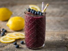 Blueberry Frosted Lemonade Smoothie from @Jewel-Osco