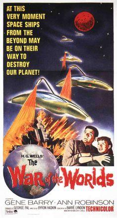 La guerra de los mundos, 1953. (Cartel en USA)
