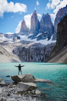 Hiking Mirador Las Torres in Chilean Patagonia - Planning a trip to Torres Del Paine in Chilean Patagonia? Check out the story to learn more about the famous hike up Mirador Las Torres. Patagonia Travel, Chile Patagonia, Places To Travel, Travel Destinations, Places To Go, Patagonia Mountains, The Journey, Argentina Travel, South America Travel