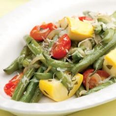 Braised Green Beans & Summer Squash - Eating Well