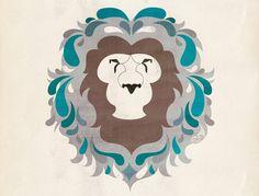 Amazing Lion head